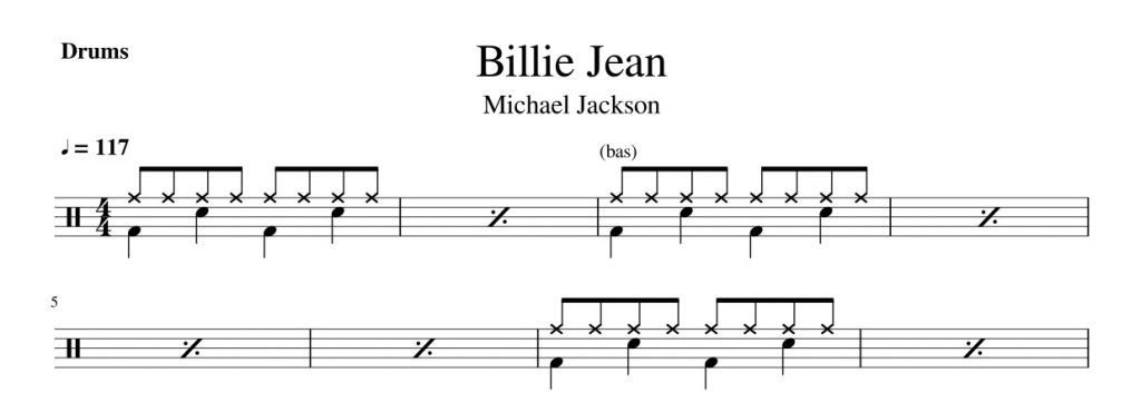 Billie Jean - nuty