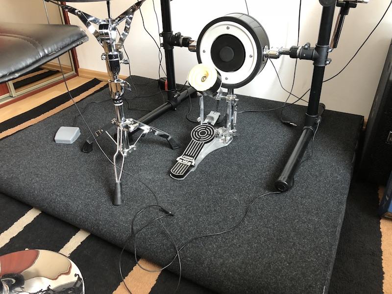 Podest do perkusji elektronicznej